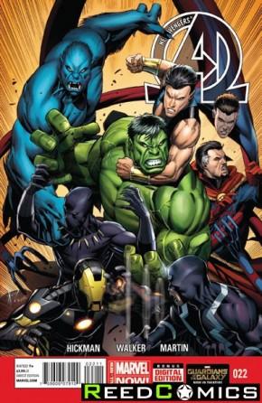 New Avengers Volume 3 #22