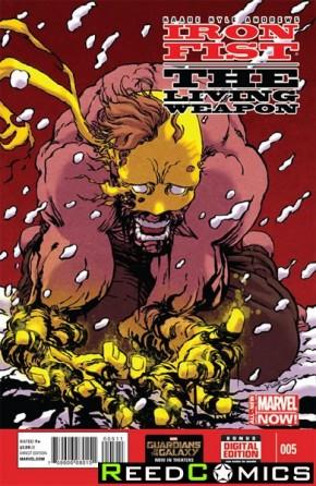 Iron Fist Living Weapon #5