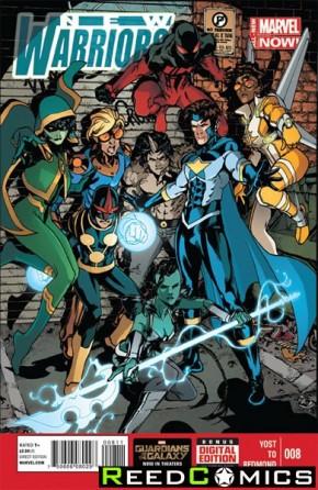 New Warriors Volume 5 #8