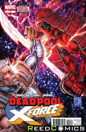 Deadpool vs X-Force #3
