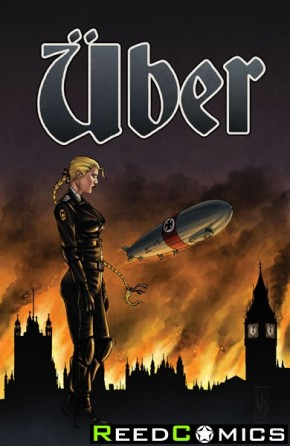 Uber #16 (Propaganda Poster Cover)