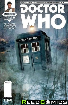 Doctor Who 11th #3 (Subscription Variant Cover)