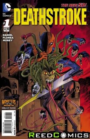 Deathstroke Volume 3 #1 (Monsters Variant Cover)