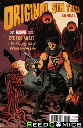 Original Sin Annual #1 (Francavilla Variant Cover)