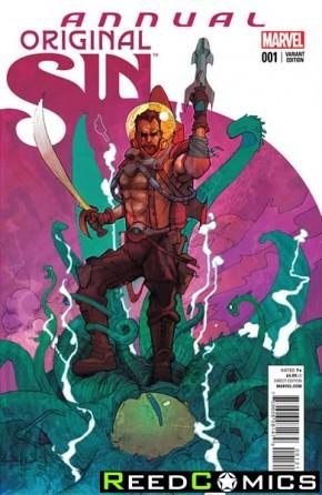 Original Sin Annual #1 (Ward Variant Cover)