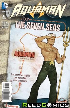 Aquaman Volume 5 #43 (Bombshells Variant Edition)