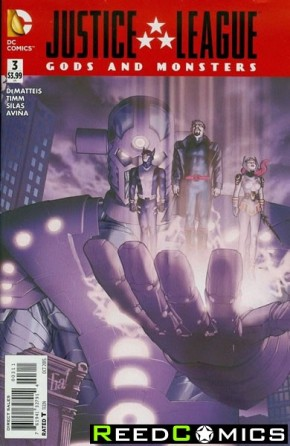 JLA Gods and Monsters Comics #3
