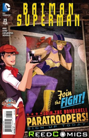 Batman Superman #23 (Bombshell Variant Edition)