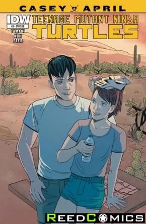 Teenage Mutant Ninja Turtles Casey and April #3 (Subscription Variant)