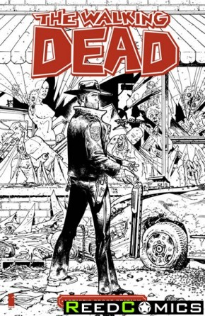Image Giant Sized Artists Proof Edition The Walking Dead #1
