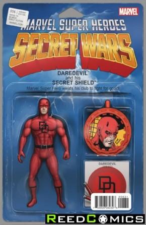 Secret Wars #6 (Christopher Action Figure Variant Cover)