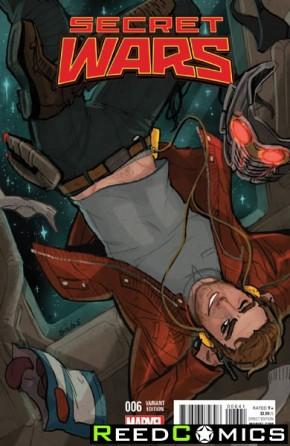 Secret Wars #6 (Tarr Variant Cover)