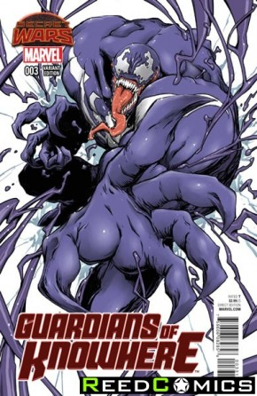 Guardians of Knowhere #3 (Nightow Manga Variant Cover)