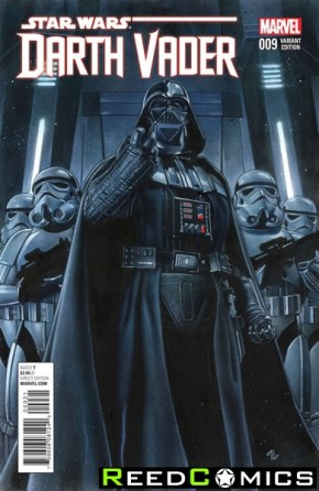 Darth Vader #9 (1 of 25 Incentive Variant Cover)