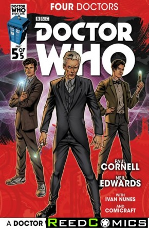 Doctor Who 2015 Four Doctors #5
