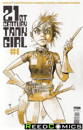 21st Century Tank Girl #1 (2nd Print)
