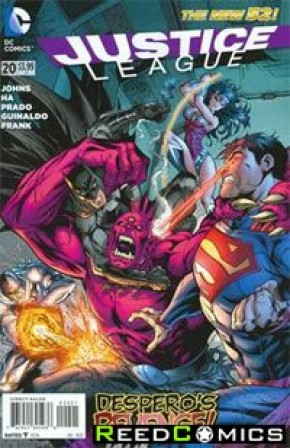 Justice League Volume 2 #20 (Variant Cover)