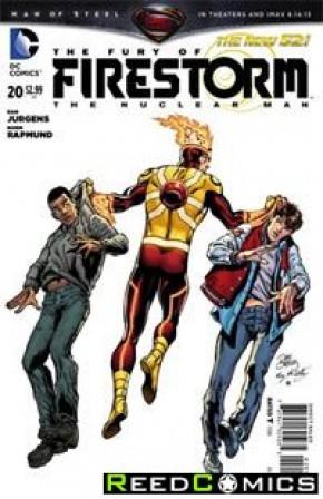 The Fury of Firestorm (2011) #20