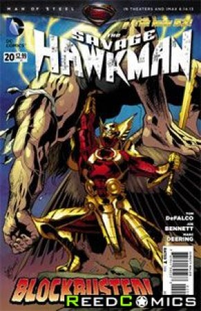 The Savage Hawkman #20
