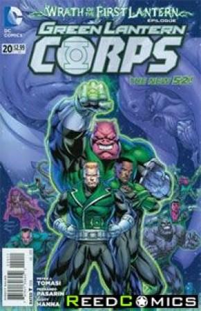 Green Lantern Corps Volume 3 #20