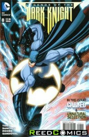 Legends of the Dark Knight (2012) #8