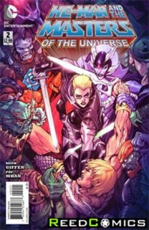He Man and the Masters of the Universe Volume 2 #2
