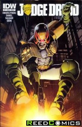 Judge Dredd Volume 4 #7 (1 in 10 Incentive)
