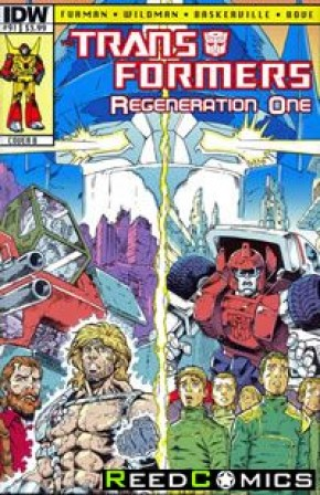 Transformers Regeneration One #91 (Cover B)