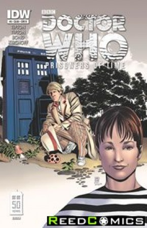 Doctor Who Prisoners of Time #5 (1 in 10 Incentive Variant Cover)