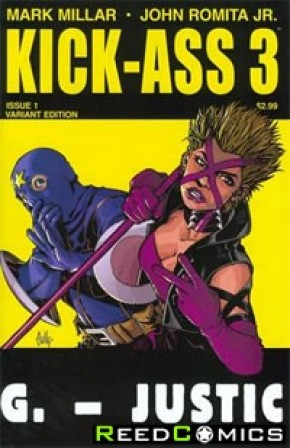 Kick Ass 3 #1 (Hamner Variant Cover)