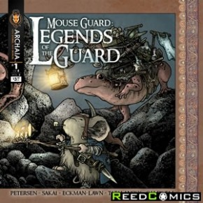 Mouse Guard Legend of the Guard Volume 2 #1
