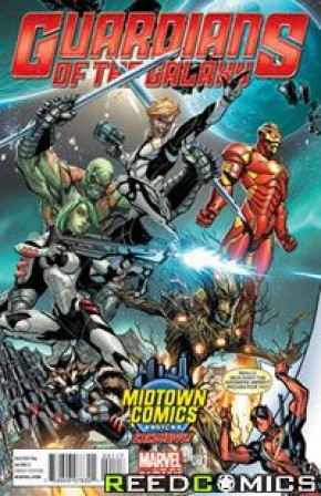 Guardians of the Galaxy Volume 3 #1 (Midtown J Scott Campbell Deadpool Variant)