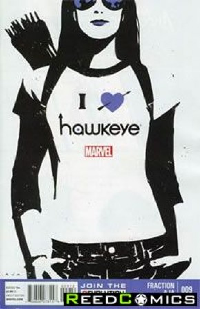 Hawkeye Volume 4 #9 (2nd Print)