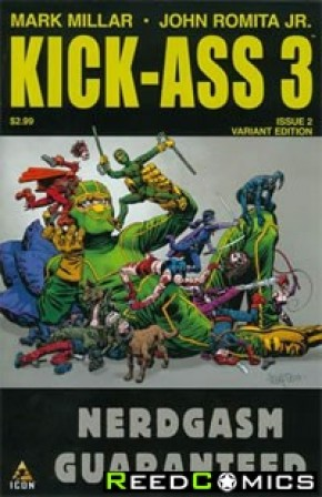 Kick Ass 3 #2 (Fegredo Variant Cover)