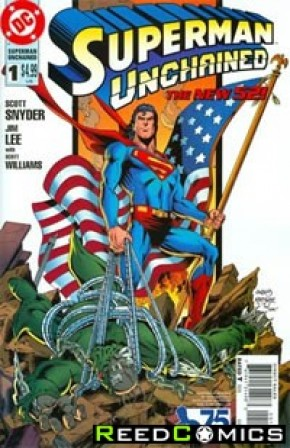 Superman Unchained #1 (75th Anniversary Reborn 1 in 25 Variant)