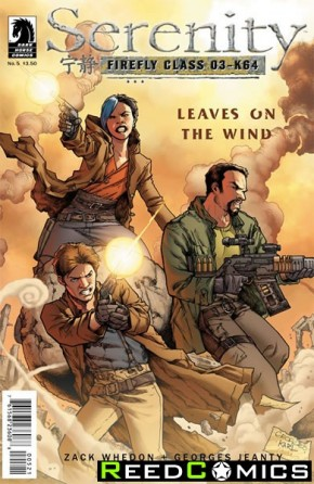 Serenity Leaves on the Wind #5 (Variant Cover)