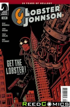 Lobster Johnson Get Lobster #4