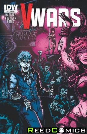 V-Wars #2 (Subscription Variant Cover)