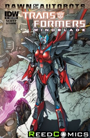 Transformers Windblade #2 (Subscription Variant Cover)