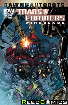 Transformers Windblade #2 (1 in 10 Incentive Variant)