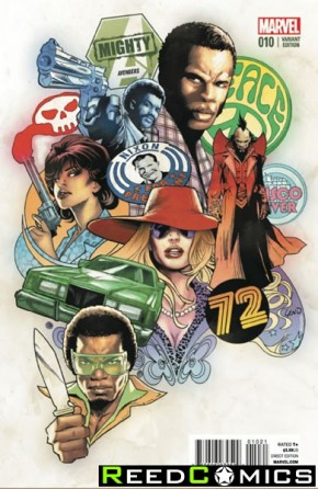 Mighty Avengers Volume 2 #10 (1 in 10 Incentive Variant Cover)