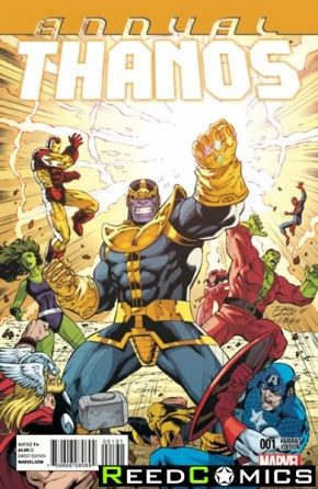 Thanos Annual #1 (Lim Variant Cover)