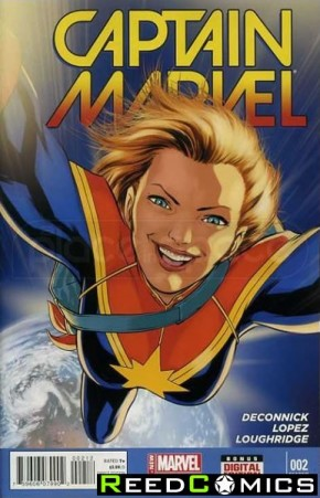 Captain Marvel Volume 7 #2 (2nd Print)