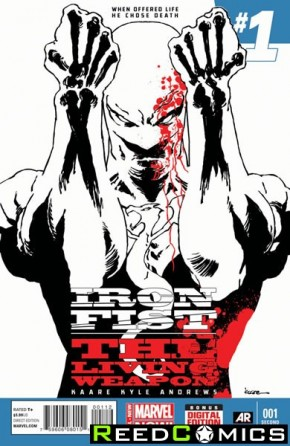 Iron Fist Living Weapon #1 (2nd Print)
