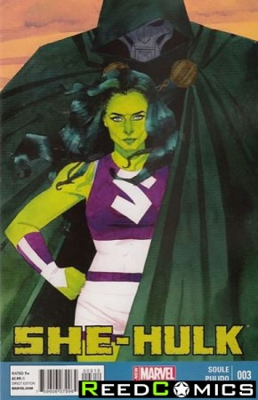 She Hulk Volume 3 #3 (2nd Print)