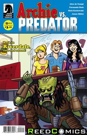 Archie vs Predator #2