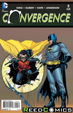 Convergence #5 (1 in 25 Incentive Variant Cover)