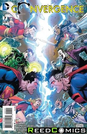Convergence #7 (Tony Daniel Variant Cover)