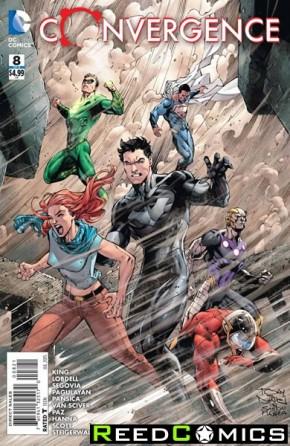 Convergence #8 (Tony Daniel Variant Cover)