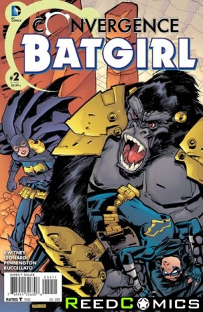 Convergence Batgirl #2